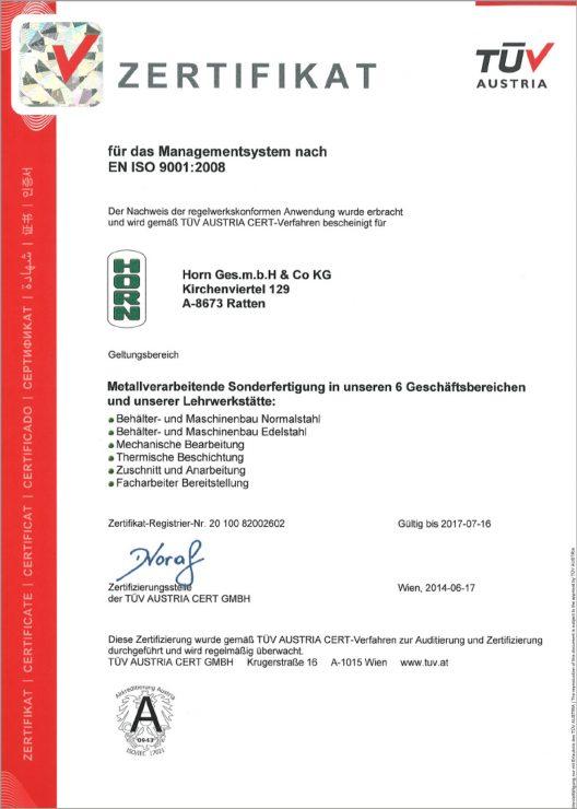 Horn-Zertifikat-EN_ISO_9001_2008