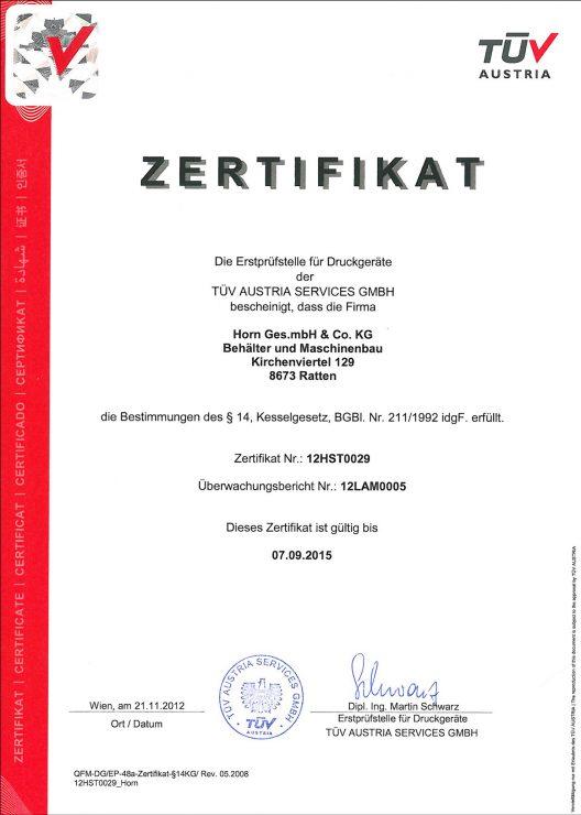 Druckgeräterichtlinie 2014