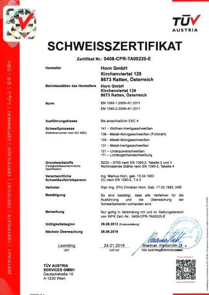 ISO EN1090-1u2D