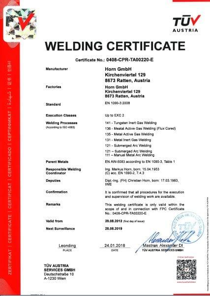 ISO EN1090-2-E