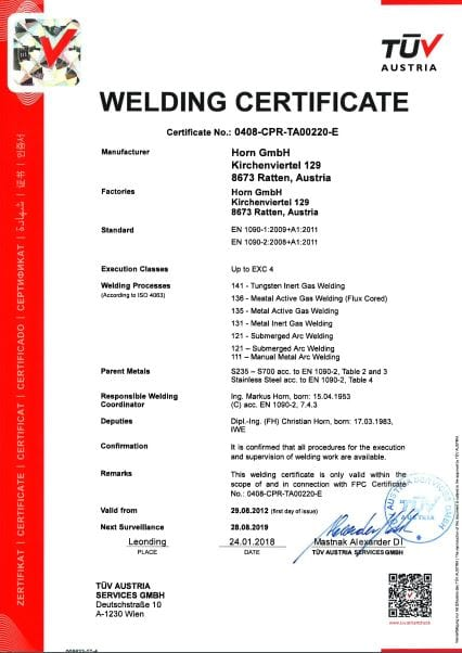 ISO EN1090-4-E